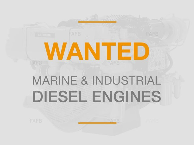 DIESEL ENGINES WANTED - picture 1